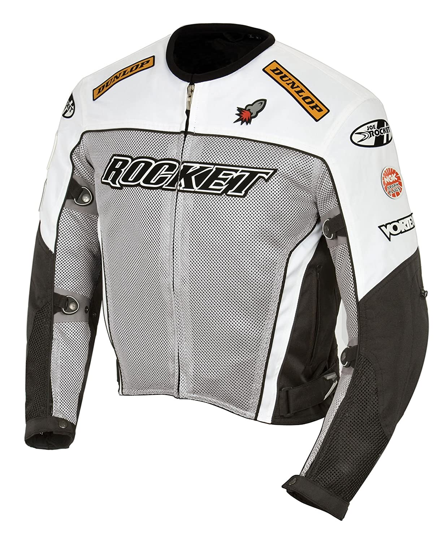 Amazon.com: Joe Rocket Mens UFO 2.0 Mesh Motorcycle Jacket (Black, X-Large): Automotive