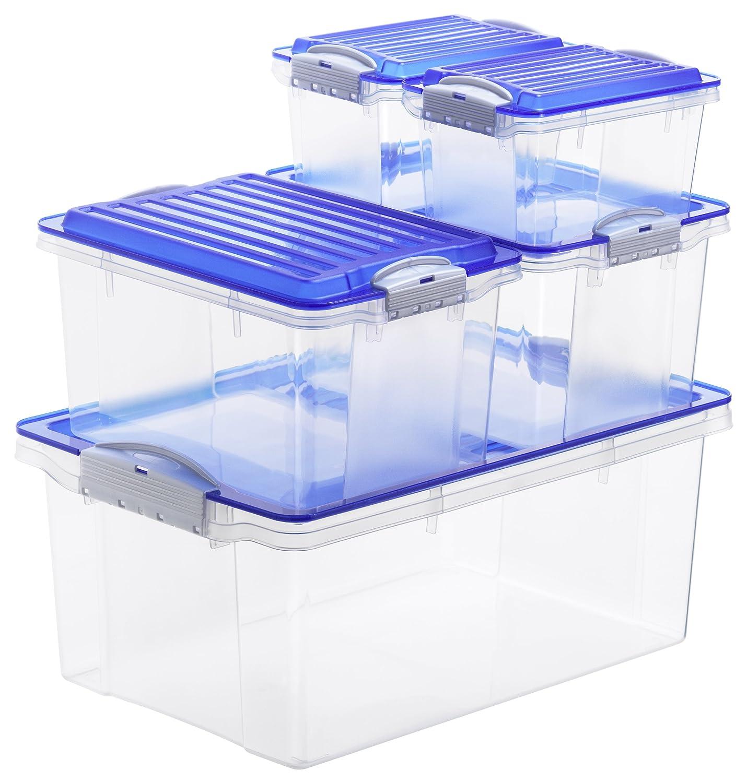 faszinierend aufbewahrungsboxen kunststoff mit deckel gro ehoussie. Black Bedroom Furniture Sets. Home Design Ideas