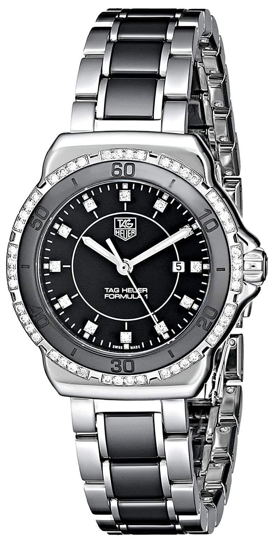 TAG Heuer Women s WAH1312.BA0867 Stainless Steel Analog Watch