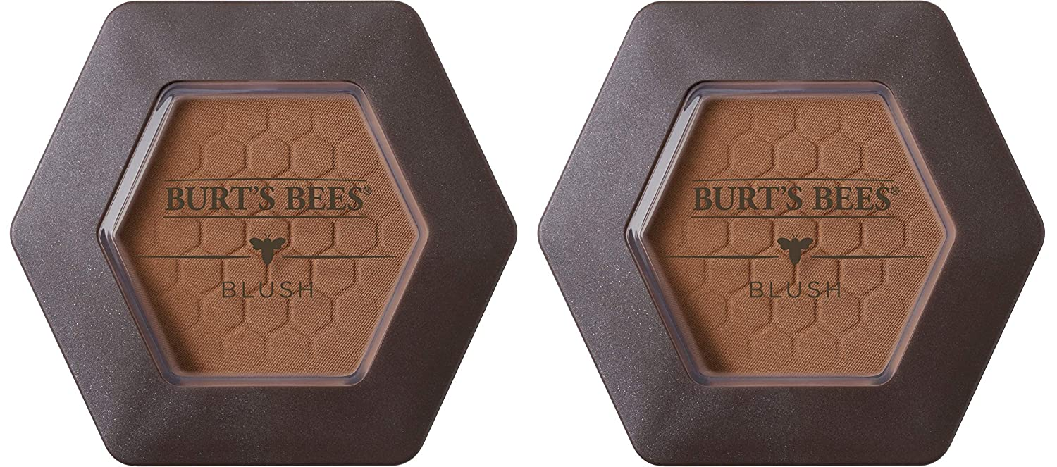 Burt's Bees 100% Natural Origin Blush with Vitamin E, Toasted Cinnamon - 0.19 Ounce (Pack of 2)