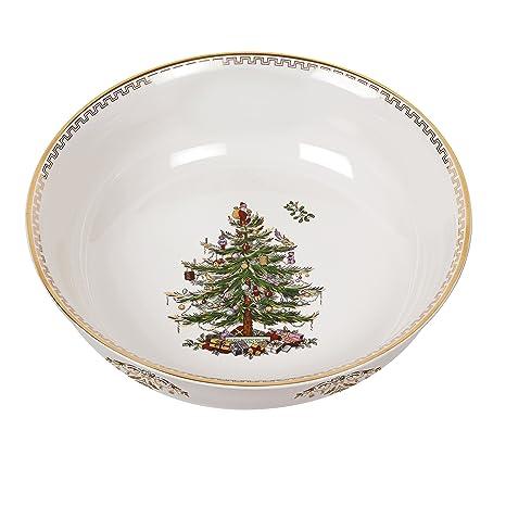 Spode Christmas Tree Bowl, Large, Gold - Amazon.com: Spode Christmas Tree Bowl, Large, Gold: Kitchen & Dining