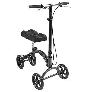 Drive Medical DV8 Aluminum Steerable Knee Walker Crutch Alternative