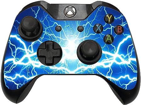 2 pegatinas para mando de Xbox One/S con diseño de tormenta espacial de galaxia azul: Amazon.es: Hogar