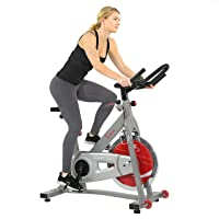 Sunny Health & Fitness Indoor Cycling Bike with 40 LB Flywheel and Dual Felt Resistance - Pro / Pro II