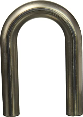 Patriot Exhaust H6932 1-7//8 304 Stainless Steel U-Bend Exhaust Pipe