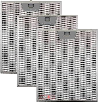 Kit de 3 piezas. Filtros de aluminio para campanas Faber 253 x 300 x 8 mm.: Amazon.es: Hogar