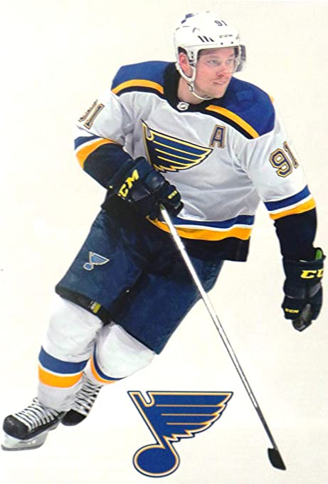 Amazon Com Vladimir Tarasenko Mini Fathead Graphic St Louis Blues Logo Official Nhl Vinyl Wall Graphics This Graphic Is 7 Inches Tall Arts Crafts Sewing
