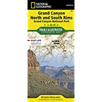Grand Canyon, Bright Angel Canyon/north & South Rims: Trails Illustrated National Parks