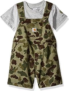 03d689505 Amazon.com: Carhartt Baby Boys' Bib Overall: Clothing