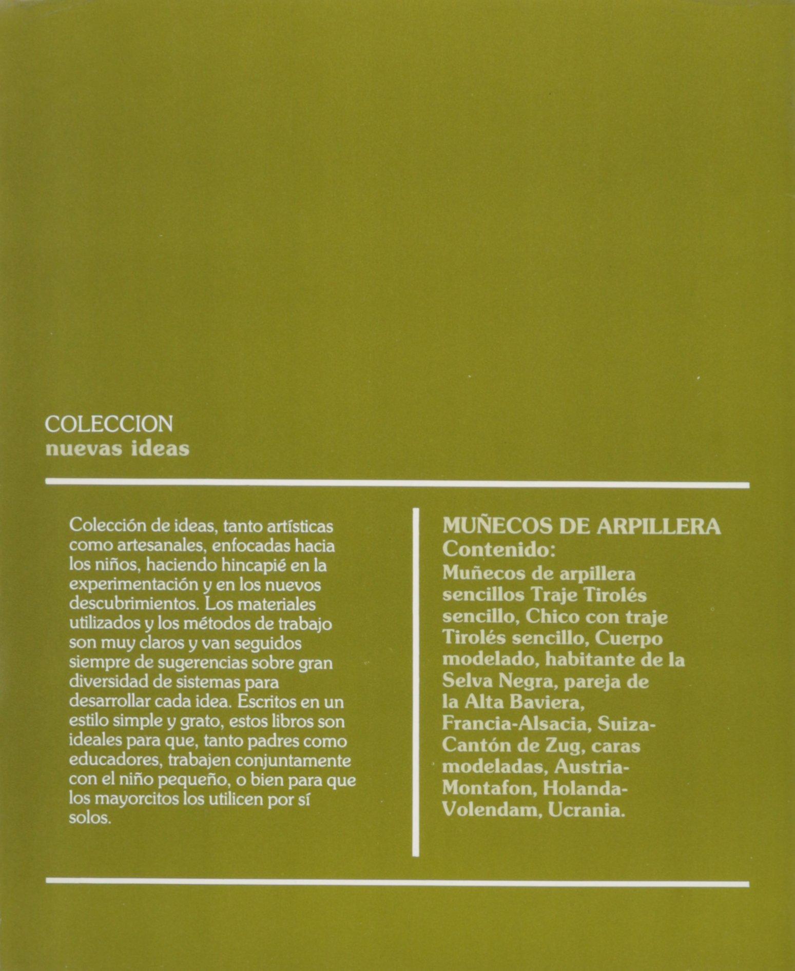 Munecos de Arpillera (Spanish Edition): Ceac: 9788432984112 ...