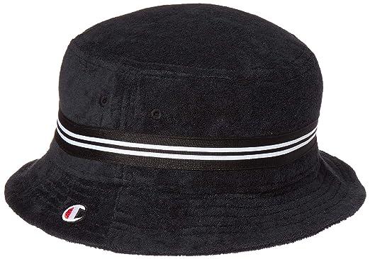 ee3b0907 Amazon.com: Champion LIFE Men's Terry Bucket Hat, Black, S-M: Clothing