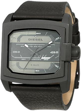 ea03d81fe Amazon.com: Diesel Men's DZ1463 Not So Basic Basics Blackout Watch: Watches
