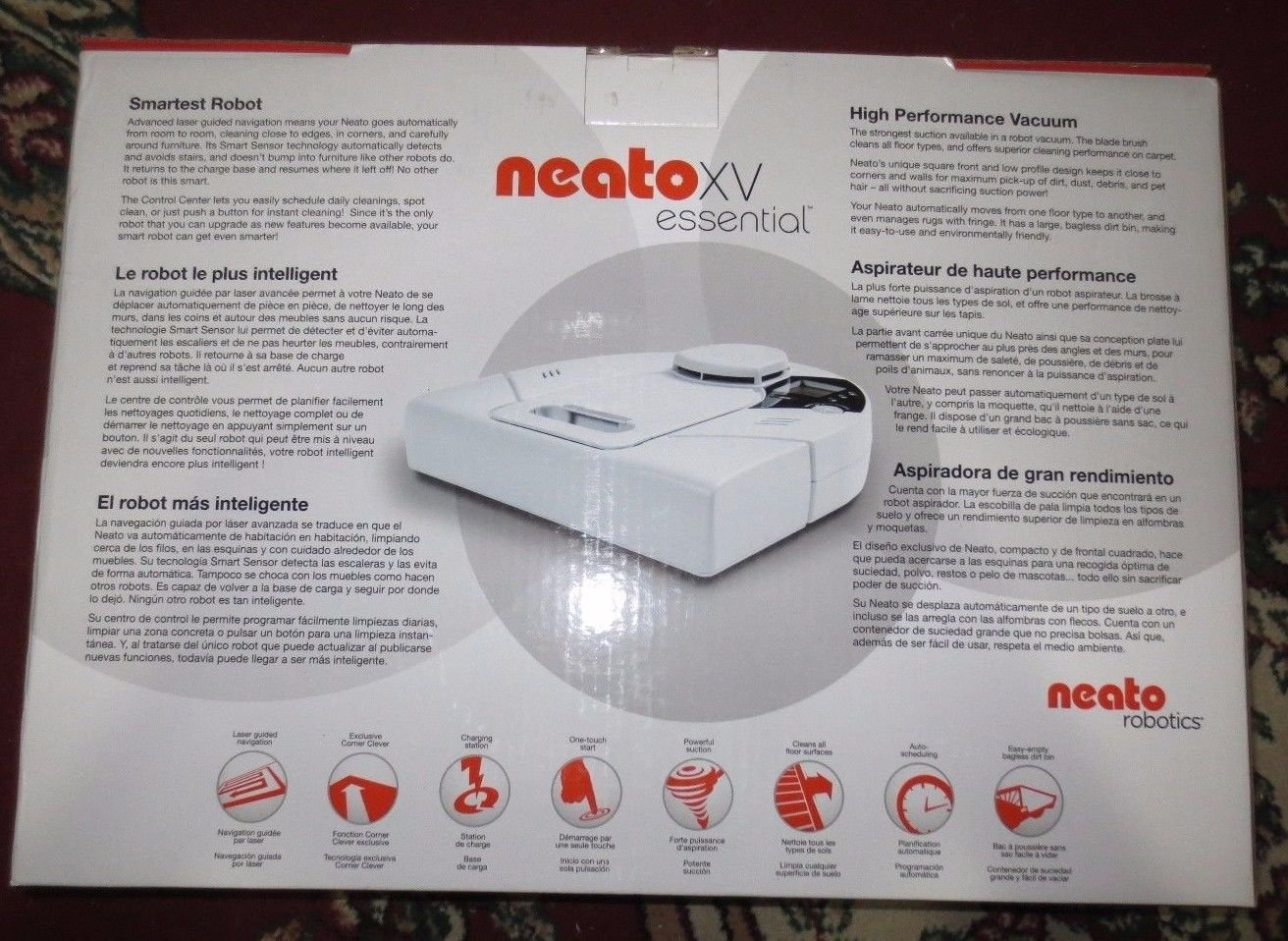 Amazon.com: Neato XV Essential Bagless Vacuum, 945-0016: Computers & Accessories