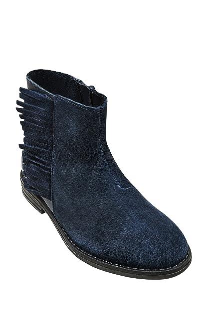 Eu 33 Con Botines niña Zapatos Mayor Marino Complementos es Amazon Next Niñas Azul Borlas Y A8xqxaz