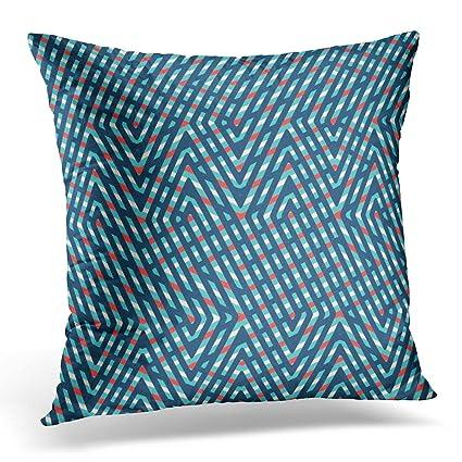 Amazon.com: Duplins Arts Abstract Pattern of Intersecting Diagonal ...