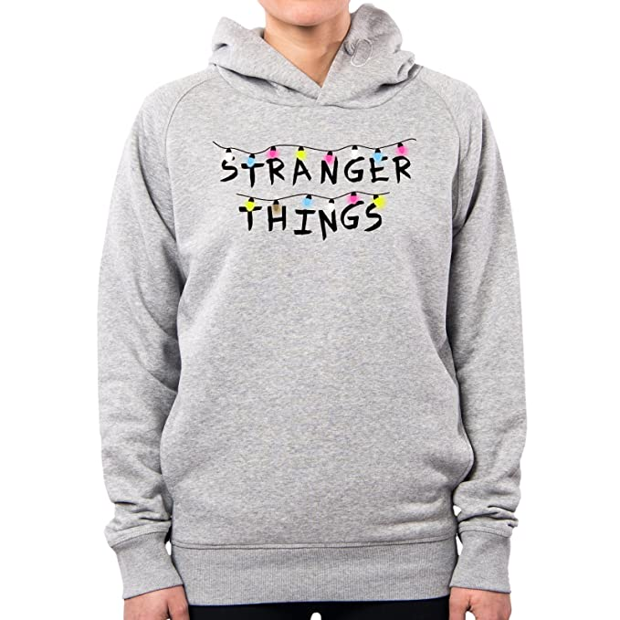 PacDesign Sudadera con Capucha Mujer Stranger Things Serie TV Show Series Et Anni 80 80s Pd0008a: Amazon.es: Ropa y accesorios
