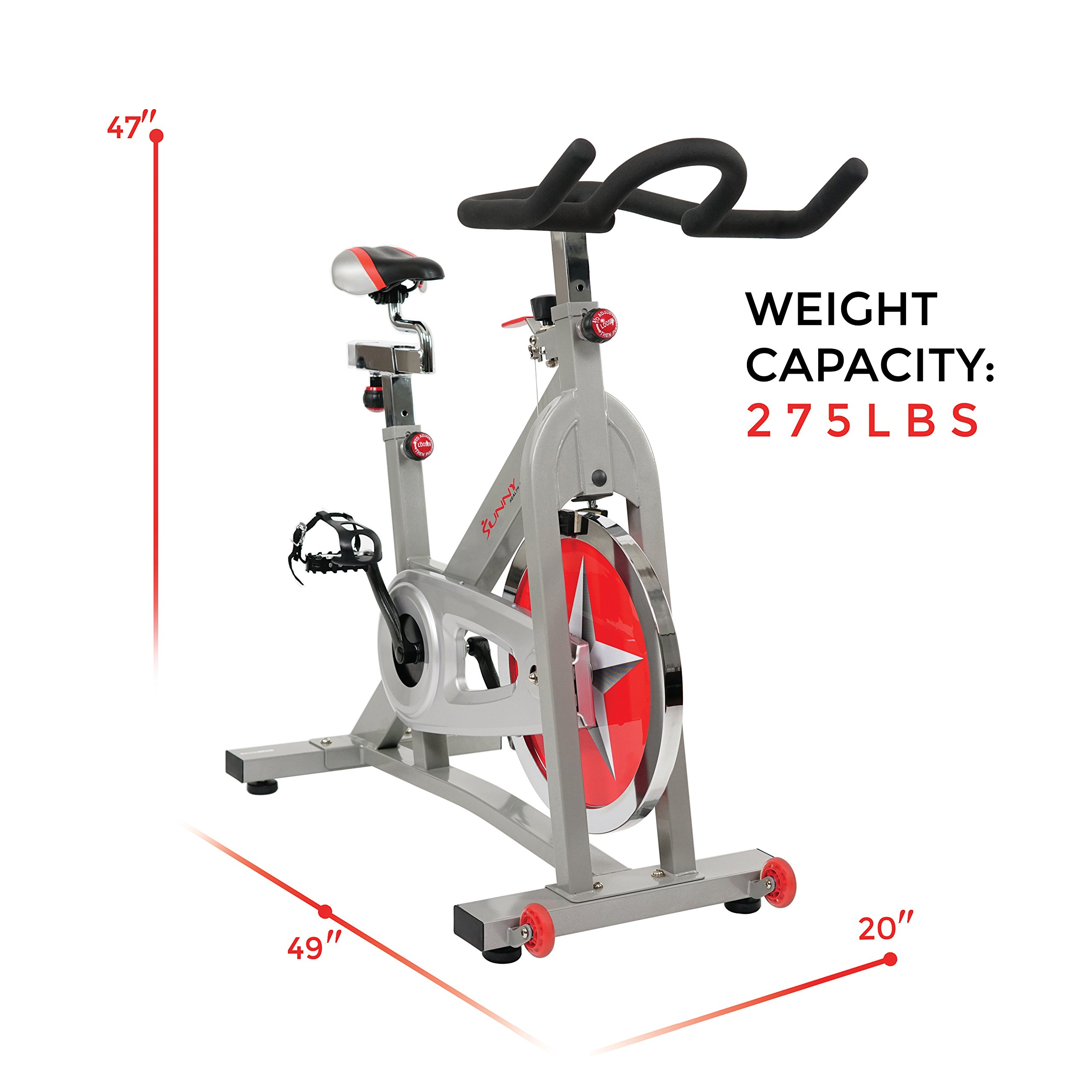 Sunny Health & Fitness Pro Indoor Cycling Bike by Sunny Health & Fitness (Image #15)