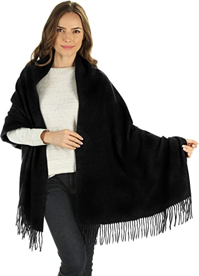 Pashmina Feel Shawl Scarf Wrap Stole Luxuriously Warm Soft /& Silky Touch