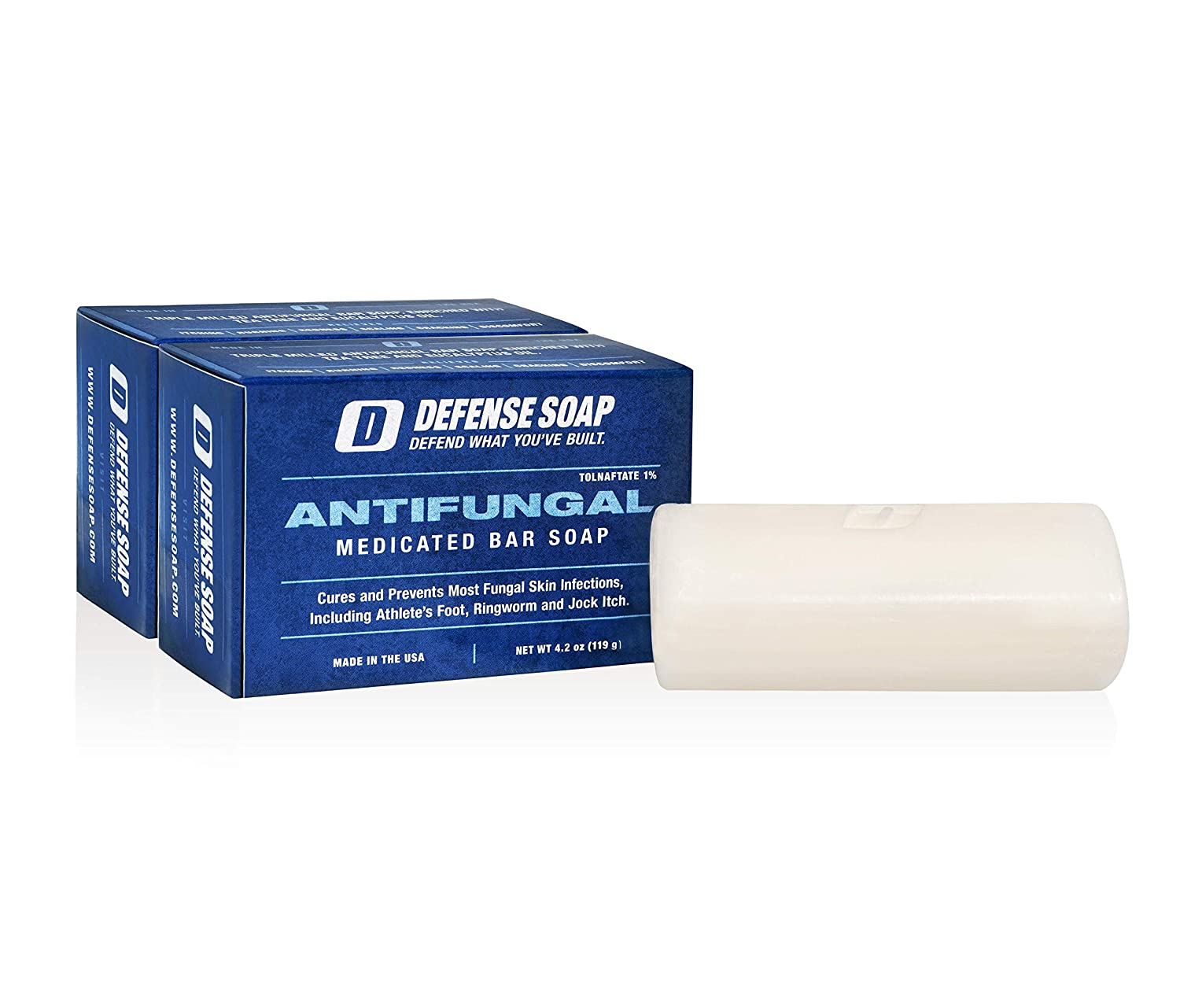 Defense Antifungal Medicated Bar Soap best Anti-fungal Soaps