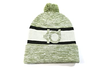 Nike Unisex KD Icon Pom Cuff Light Green Beanie Hat One Size
