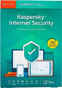Internet Security - 3 Dispositivos, Kaspersky, KL1939K5CFS