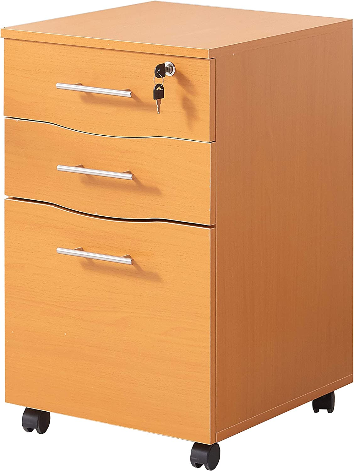 Amazon.com: MMT Mobile Filing Cabinet Lockable 33 Storage Drawers