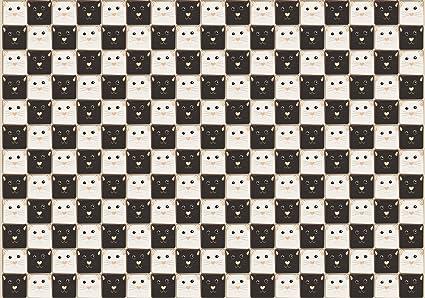 wandmotiv24 Fotomural Tablero de ajedrez hecho de gatos ...