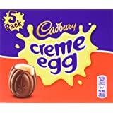 Cadbury Creme Egg 5-Pack 197 g (Pack of 4, total 20 eggs)
