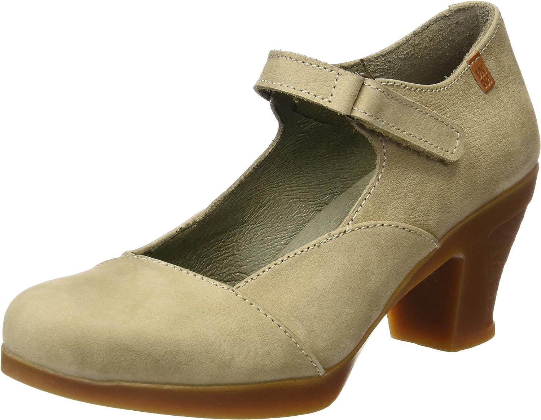 TALLA 40 EU. El Naturalista N588 Pleasant Espiral, Zapatos de tacón con Punta Cerrada para Mujer
