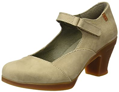 El Naturalista S.A N588 Pleasant Espiral, Women's Closed-Toe Heeled Shoes, (Piedra)
