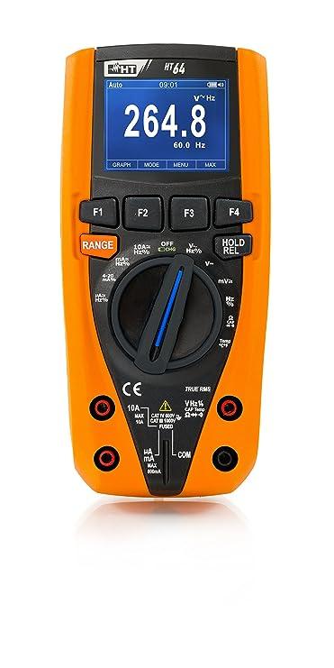 6000/Digits HT strumento multimetro digitale TRMS Bar Graph 1/pezzo 4/cifre Cat IV ht62