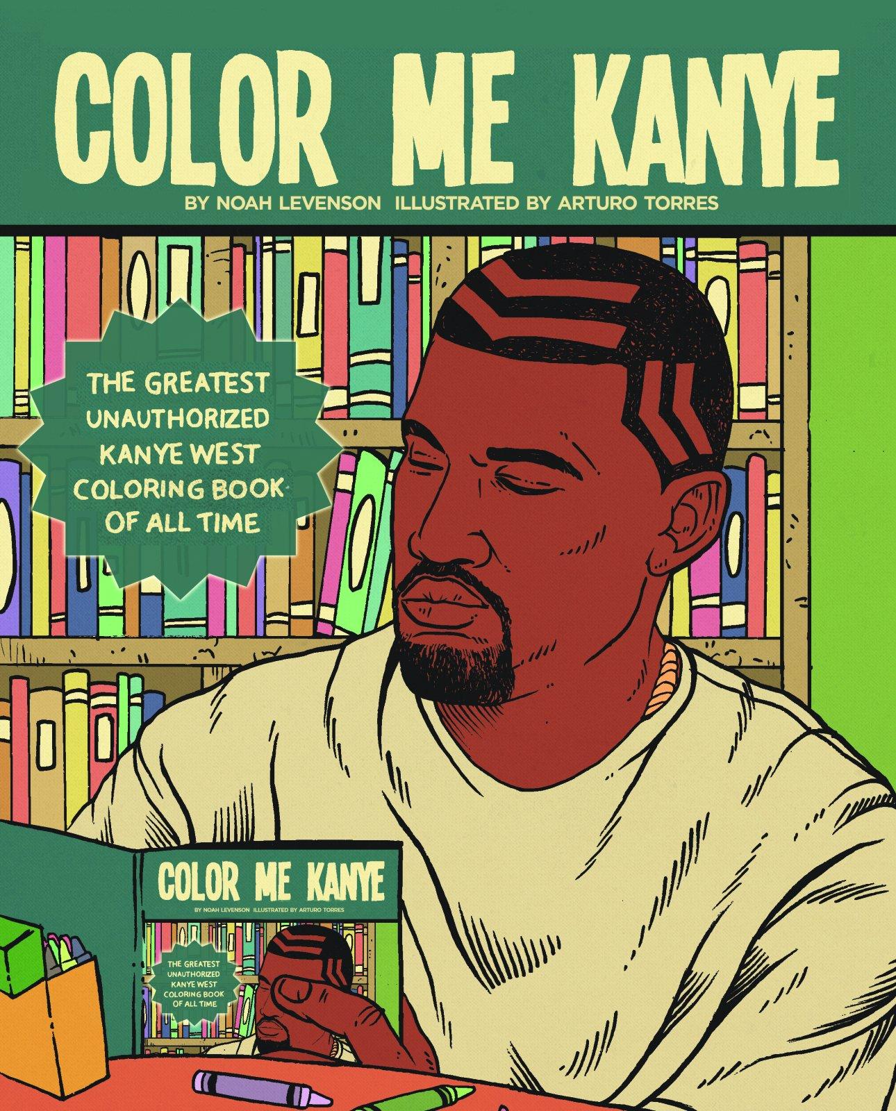 color me kanye lesser gods hip hop rap stars coloring pages
