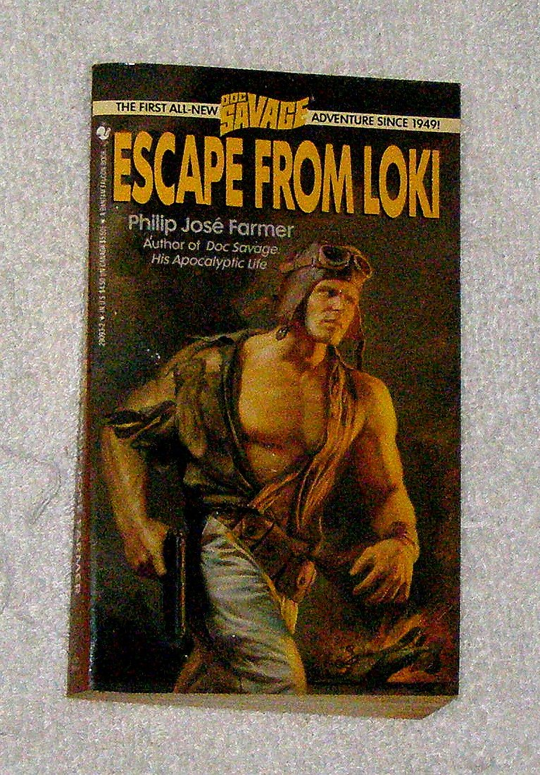 Escape from loki doc savage philip jose farmer 9780553290936 escape from loki doc savage philip jose farmer 9780553290936 amazon books fandeluxe Images