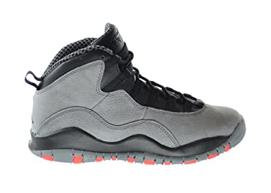 timeless design 0dba8 ecbc6 Jordan Air 10 Retro Infrared (GS) Big Kids Basketball Shoes Cool  Grey Infrared