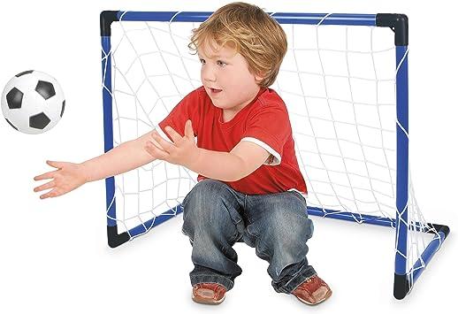 Toyrific - Set de portería y balón de fútbol (Incluye Bomba para inflar ...