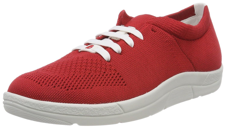 Berkemann Allegra, Zapatillas para Mujer 37 EU|Rojo (Rot 240)