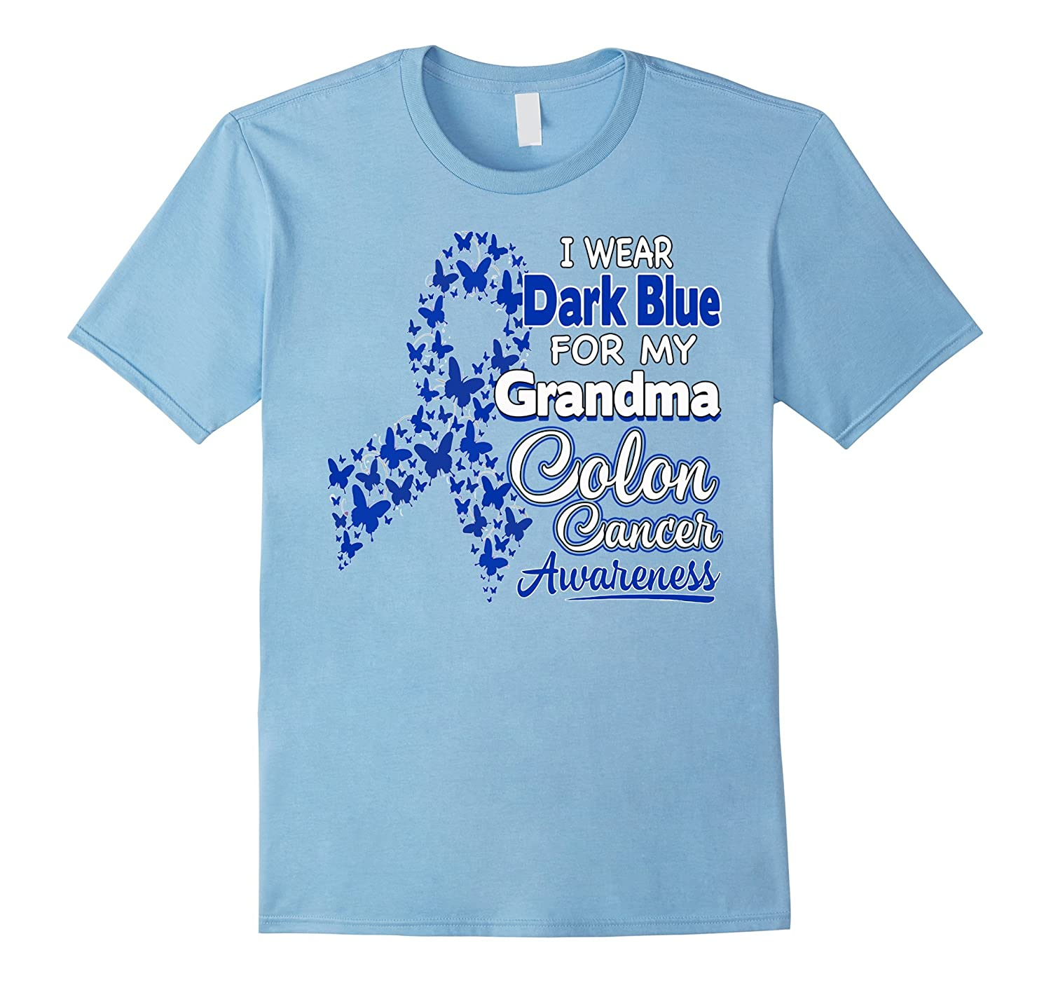 I Wear Dark Blue For My Grandma - Colon Cancer Awareness-CD