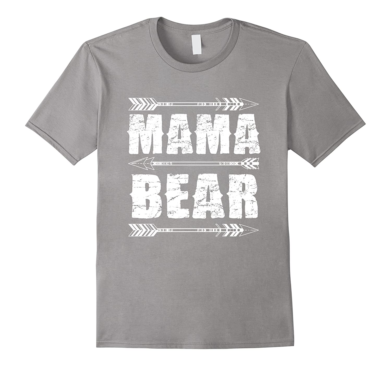 Mama Bear T-Shirt Love you mom-TH