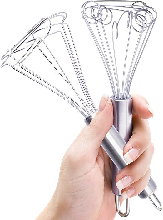 Norpro 2351 11-Inch Stainless Steel Saucinator Whisk