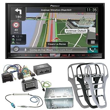 Juego completo de Opel Astra J Pioneer f80dab naviceiver con con radio digital y Bluetooth manos