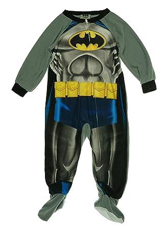 6d8e1c6fc Amazon.com  Toddler Boys  One-Piece Footed Batman Blanket Sleeper ...