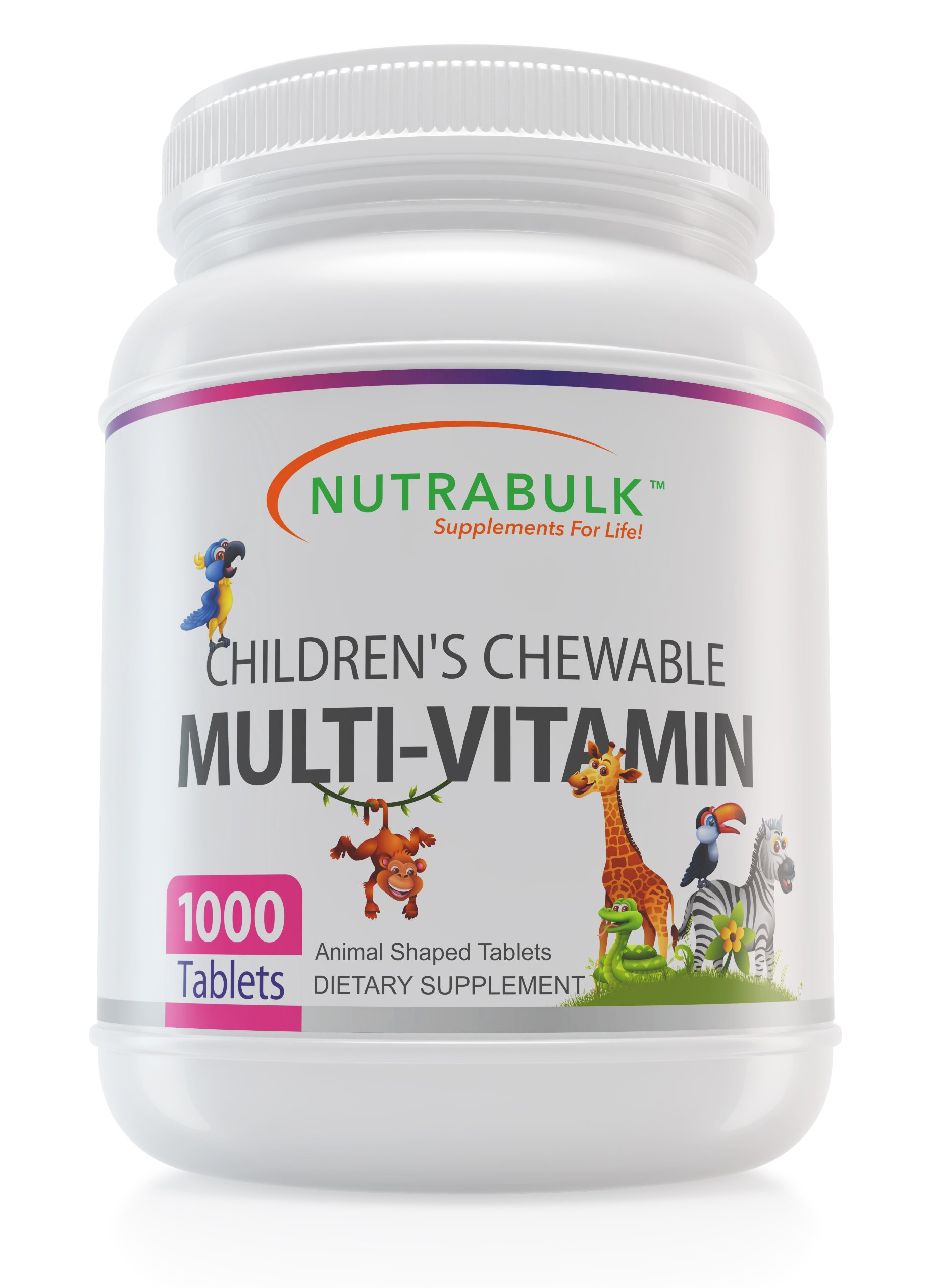 Children's Chewable Multi-Vitamin 1000 Count
