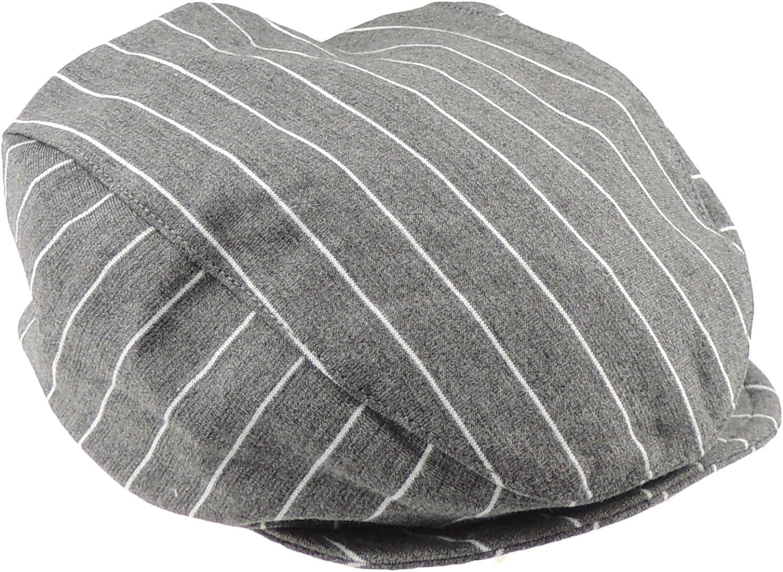 Ularma Adorable Baby Infant Boy Girl Stripe Beret Cap Peaked Baseball Hat Khaki