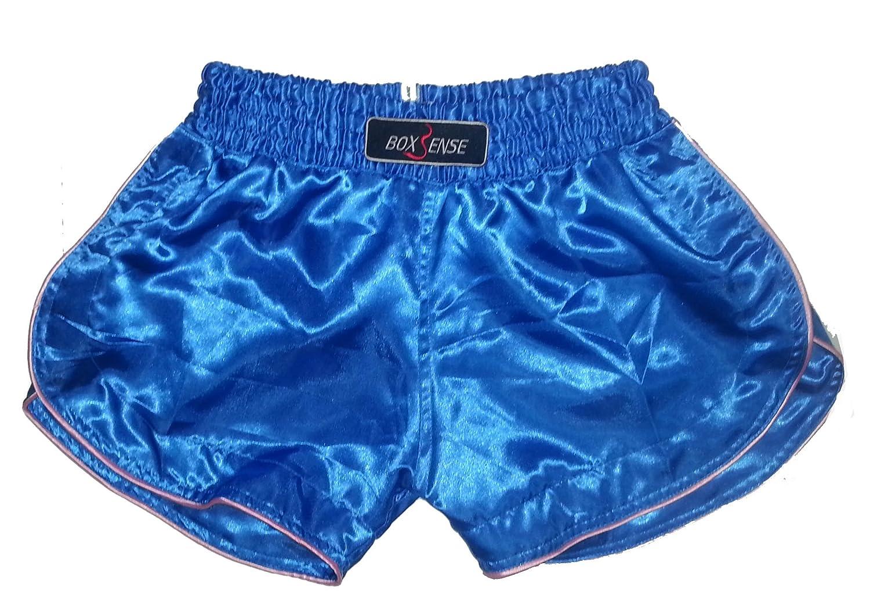 Boxsense Damen Muay Thai Hosen Boxen - BXSWO-001-Blue