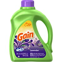 Gain Liquid Lavender Scent 64 loads 100oz Laundry Detergent