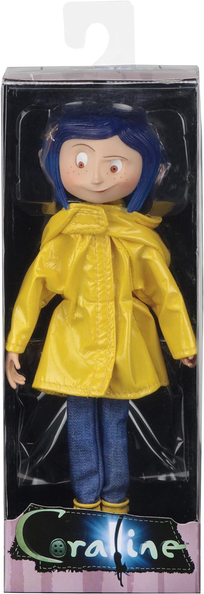 Coraline Bendy Doll Raincoats e Boots Action Figure Neca