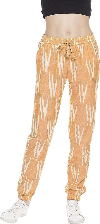 Indigo Paisley Pantalones De Estilo Boho Para Mujer Amazon Es Ropa Y Accesorios