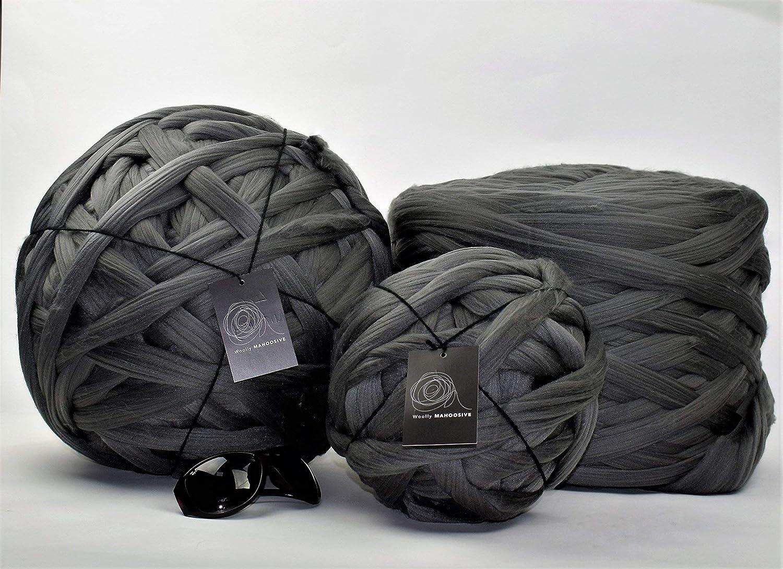 1kg Sky Blue Mammoth® Giant Super Chunky Extreme Arm Knitting Crochet Big Yarn