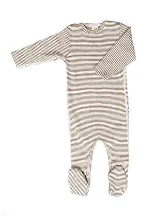 c035df568591 Amazon.com  Lilano Organic Merino Wool and Silk Baby Pajamas Romper ...