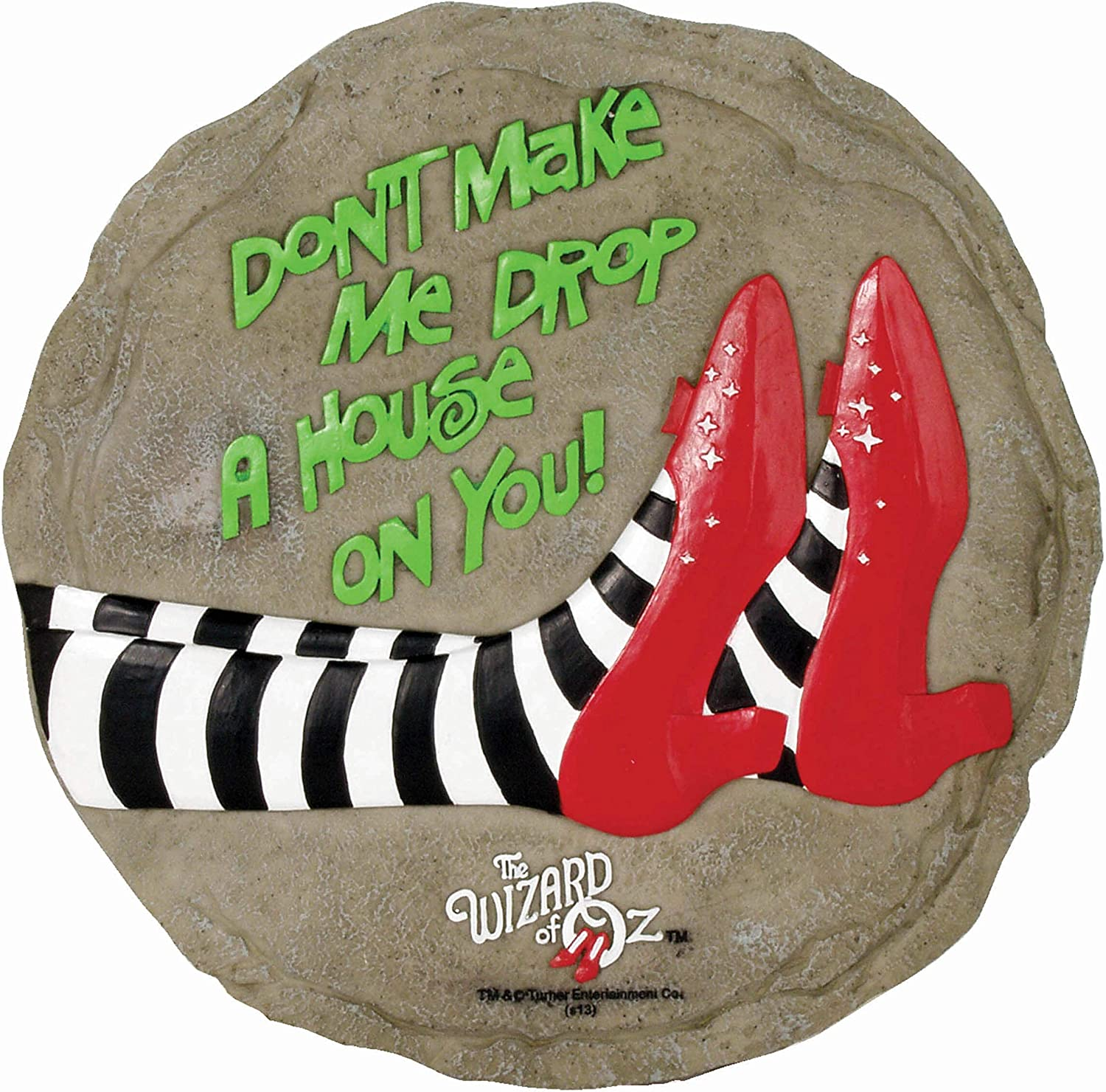 Spoontiques 13330 Drop a House on You Stepping Stone